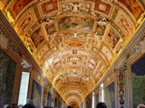 Interior of the Sistine Chapel in Vatican City